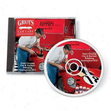 Griot's Garage Machine Polishing And Waxing Dvd