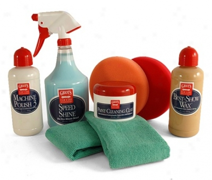 Griot's Garage Polish & Wax Kit