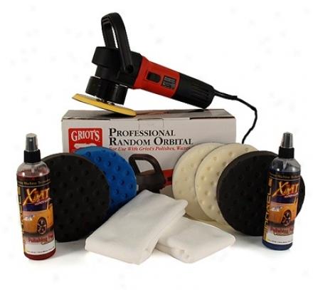 Griot's Garage Random Orbital Polisher & Par Kit Free Bonus