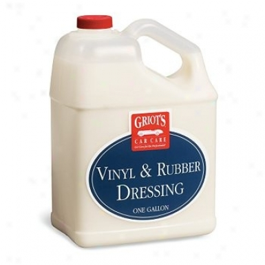 Griot's Garage Vinyl & Rubber Dreseing 128 Oz.
