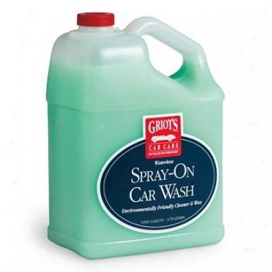 Griot's Garage Waterless Spray-on Car Wash 128 Oz.