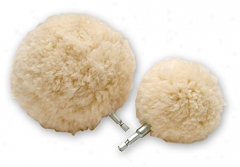 Lake Country Wool-ball 3 Inch & 5 Inch Polishing Balls Combo