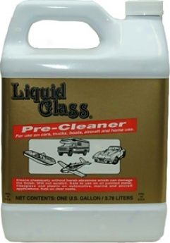 Liquid Glass Pre-cleaner 128 Oz.