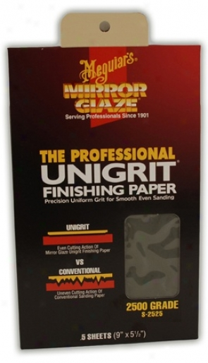 Meguiars 2500 Grit Sand PaperS ingle Sheets