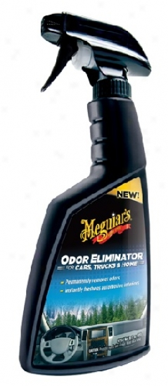 Meguiars Car Odor Eliminator 16 Oz. New Scent!