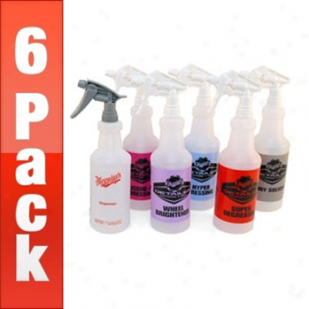 Meguiar's Detailing Spray Bottles 6 Pack- Your Choice!