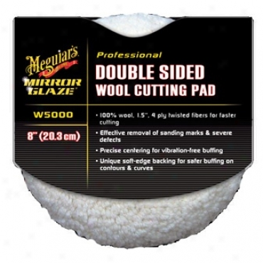 Meguiars Double Sided 010% Wool Cutting Cushion