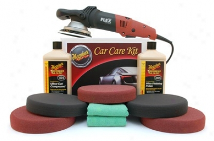Meguiars Flex 3401 Soft Buff Polishing Kit Free Bonus