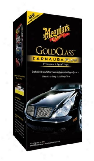 Meguiars Gold Class Carnauba Plus Premium Liquid Cere New Formula!