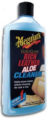 Meguiars Gold Scientific division  Rich Leather Aloe Cleaner