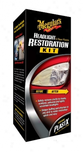 Meguiars Headlight & Clear Plastic Restoration Kit
