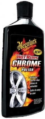 Meguiars Hot Rims Chrome Polish
