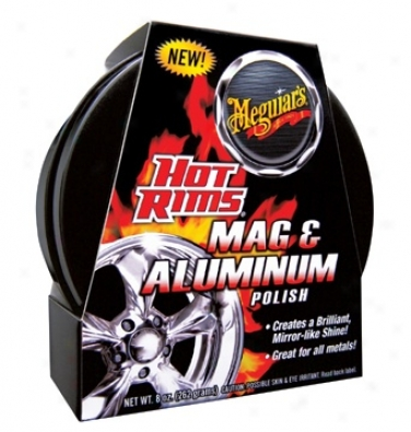 Meguiars Hot Rims Mag & Aluminum Polish
