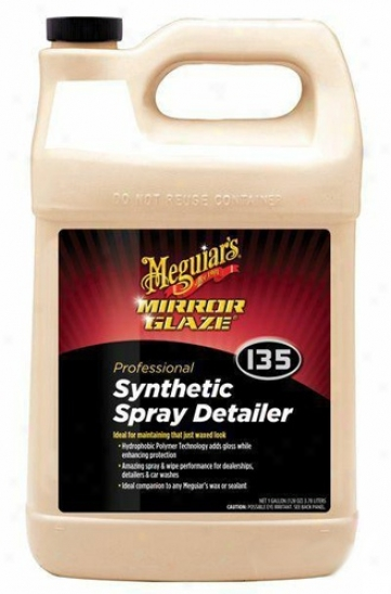 Meguiars Mirror Glaze #135 Synthetic Spray Detailer 128 Oz.