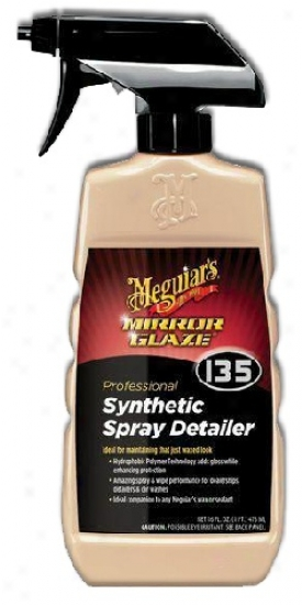 Meguiars Mirror Glaze #135 Synthetic Spray Detailer