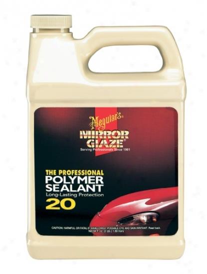 Meguiars Mirror Glaze #20 Polymer Sealant 64 Oz.