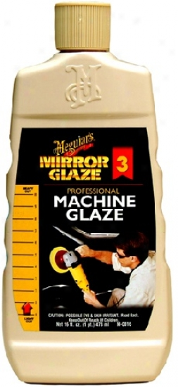 Meguiars Mirror Glaze #3 Pro Machinery Glaze
