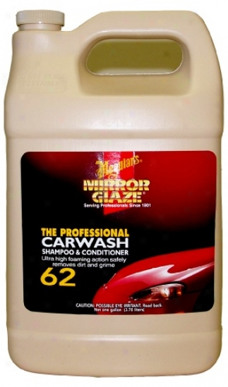 Meguiars Mirror Cover with a glassy substance #62 Carwash Shampoo & Conditioner