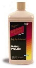 Meguiars Mirror Glaze #81 Hand Polish