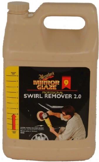 Meguiars Mirror Glwze  #9 Swirl Remover 2.0 128oz.