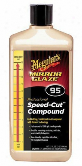 Meguiars Mirror Glaze #95 Speed-cut Compound