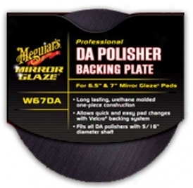 Meguiars Mirror Glazing G110 Da Polisher 5 Inch Backing Plate