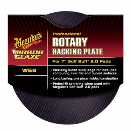 Meguiars Mirror Glaze W68 Rotary Backing Plate 6 Inches