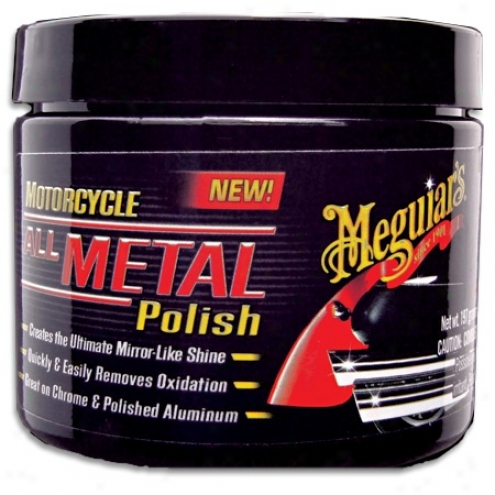 Meguiars Motorcycle Whole Metal Polish