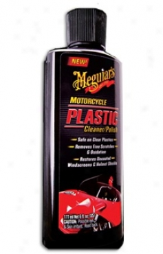 Meguiars Motorcycle Plastic Cleaner/polish
