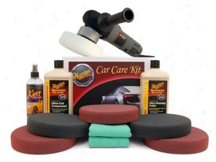 Meguiars Porter Cable Xp Soft Buff Polishing Kit   Free Premium