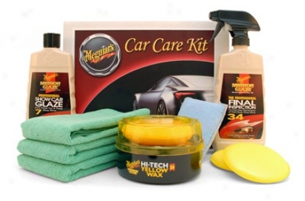 Meguiars Show Car Kit For Hand Application