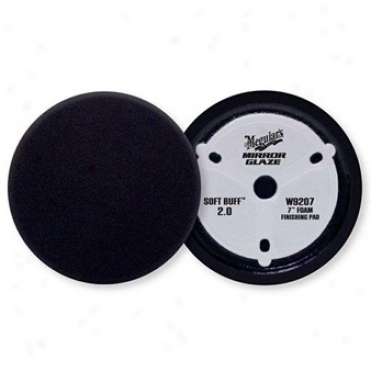 "Meguiars Soft Buffâ""¢ 2.0 Foam Finishing Pad, 7 Inches"