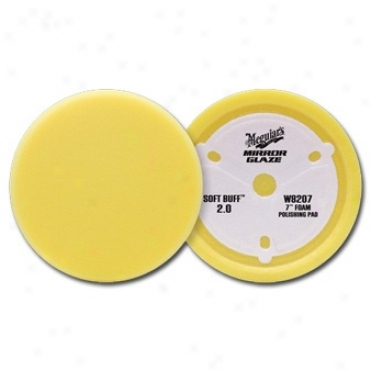 "Meguiars Soft Buffâ""¢ 2.0 Foam Polishing Pad, 7 Inches"