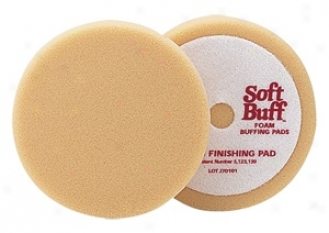 Meguiars Soft Buff W-9006 Foam Finishing Pad 6.5""