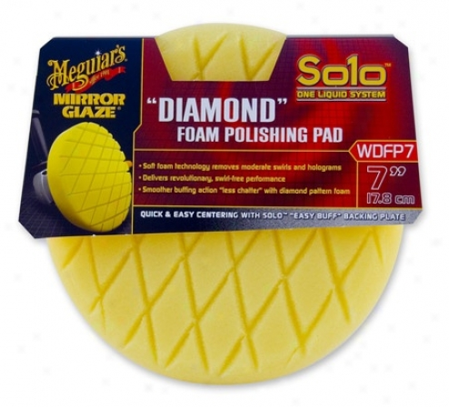 "Meguiars Solo ""diamond"" Foam Polishing Pad 7 Inch"