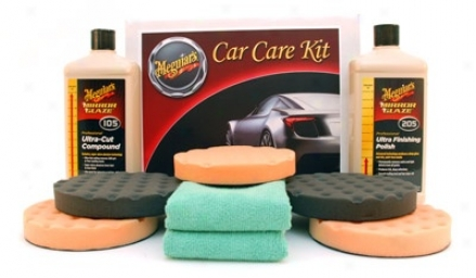 Meguiars Ultra Lustre Kit With 5.5 Inch Pads