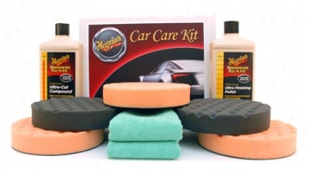 Meguiars Ultra Polish Kit With 6.5 Inch Pads