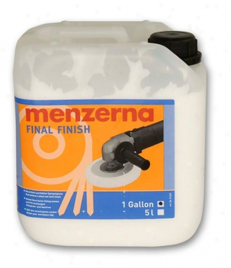 Menzerna Final Polish 128 Oz.