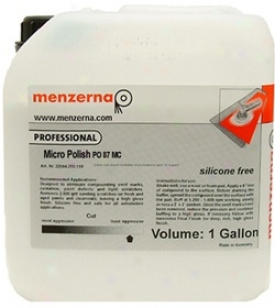 Menzerna Micro Polish  Po 87mc 128 Oz.