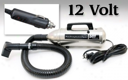 Metro 12 Volt Hand Vac Plus 3 Ft. Flexible Hose