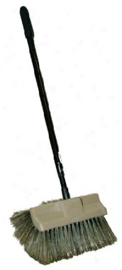 Montana Original Booar?s Hair Car Wasg Brush Plus & Telescopic Handle