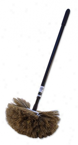 Montana Original Boar?s Hair Round Wash Brush & Telescopic Handle