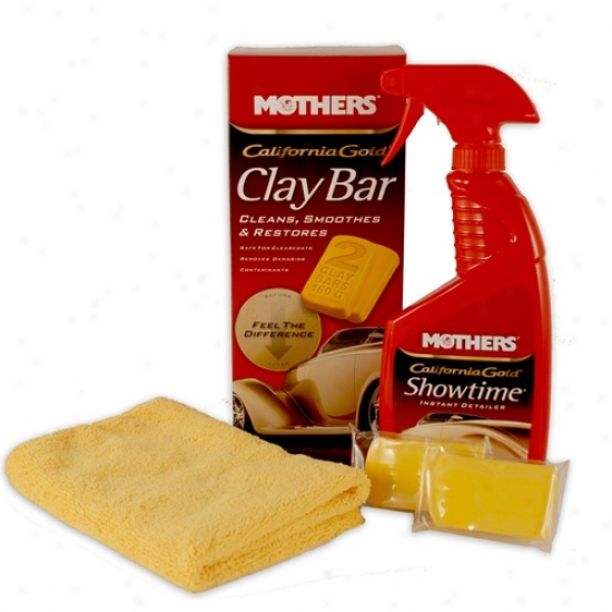 Mothers California Gold Clay Bar Paint Saving System - 2 Clay Bars
