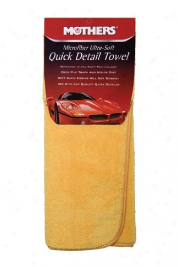 Mothers Microfiber Ultra Soft Pregnant Detail Towel