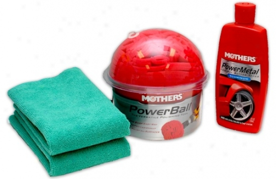 Mothers Powerbqll Metal Kit
