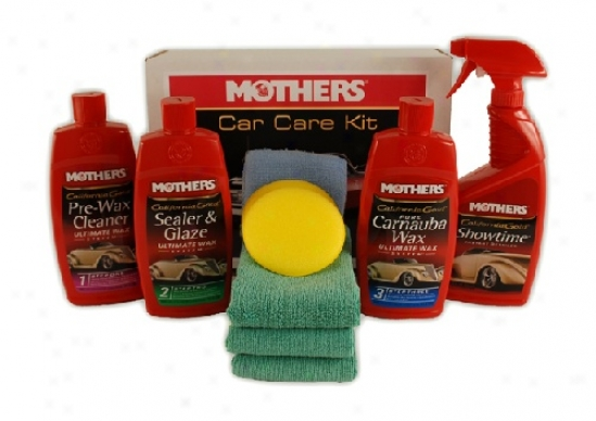 Mothers Ultimate Wax Kit