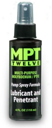 Mpt Twelve Lubricant And Penetrant Spray Formua 4 Oz. Pump Spray