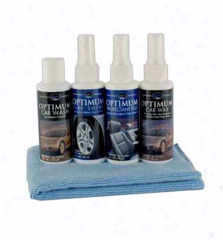 Optimum Car Care Sampler Kit