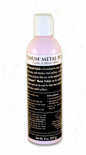 Optimum Metal Polish 8oz.