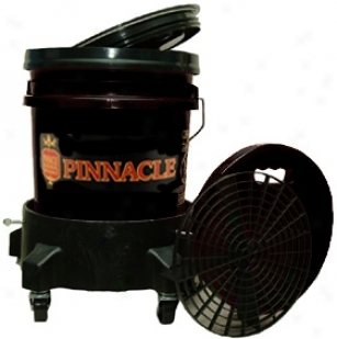 Pinnacle Complete Wash System Through  Dolly Available In Black, Red, & Clear